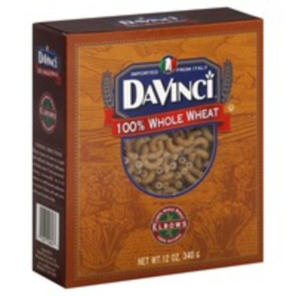 DaVinci 100% Whole Wheat Elbows