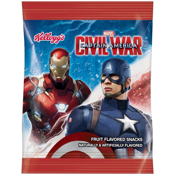 Kellogg's Marvel Captain America Civil War Assorted Fruit Snacks