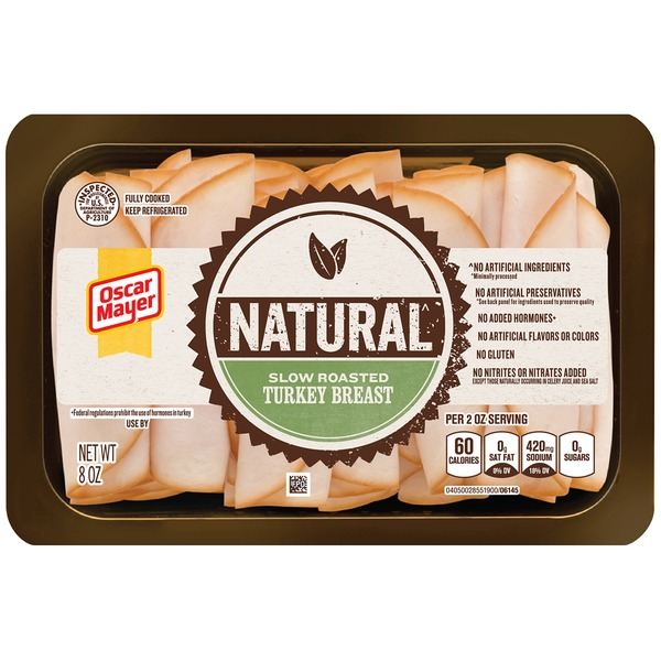 Oscar Mayer Selects Turkey Breast Slow Roasted