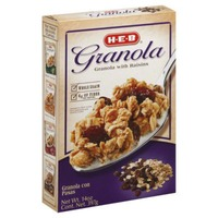 H-E-B Granola With Raisins