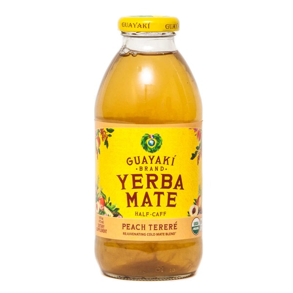 Guayaki Peach Pure Body Immune Support Blend