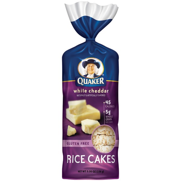 Quaker Rice Cakes White Cheddar Rice Cakes