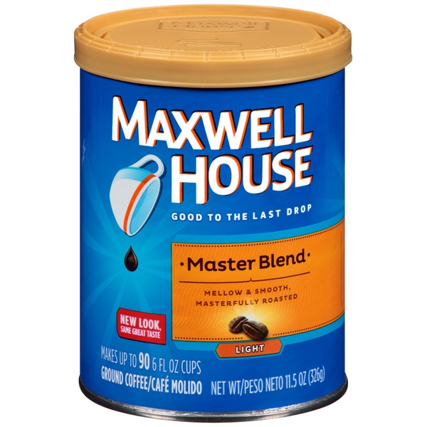Maxwell House Master Blend Light Coffee