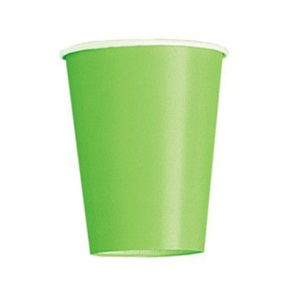 Unique Lime Green 9 Oz Cup