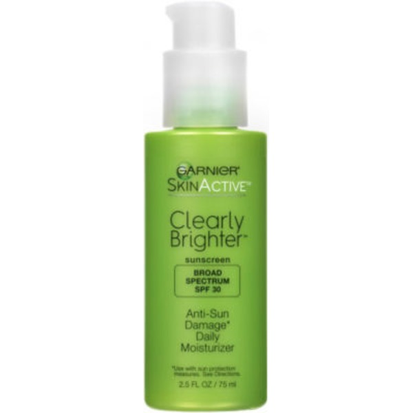 Skin Active Clearly Brighter Anti-Sun Damage SPF 30 Daily Moisturizer