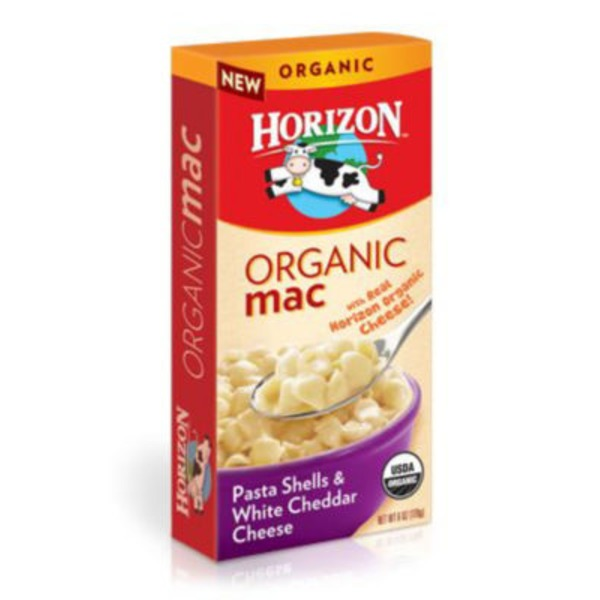 Horizon Organic Organic Mac Pasta Shells & White Cheddar Cheese Macaroni & Cheese
