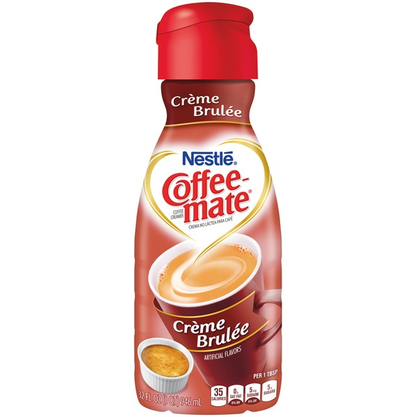 Nestlé Coffee Mate Creme Brulee Liquid Coffee Creamer