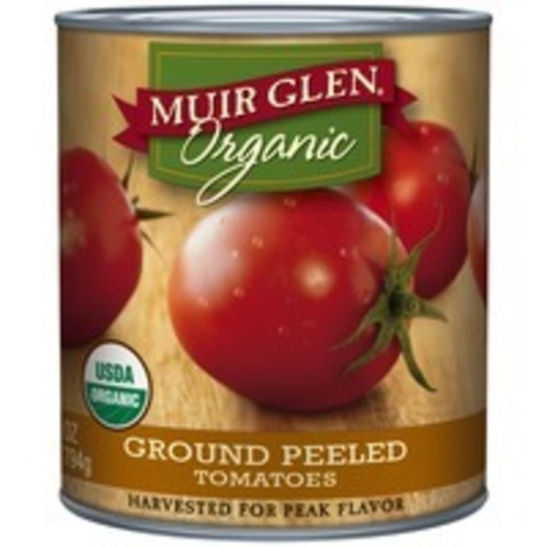Muir Glen Organic Ground Peeled Tomatoes