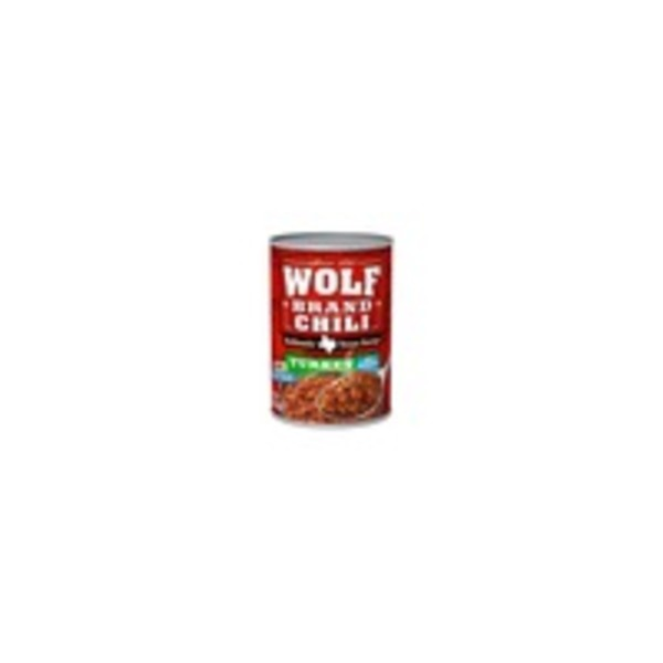 Wolf DNU Wolf Brand Authentic Texas Recipe Turkey No-Bean Chili