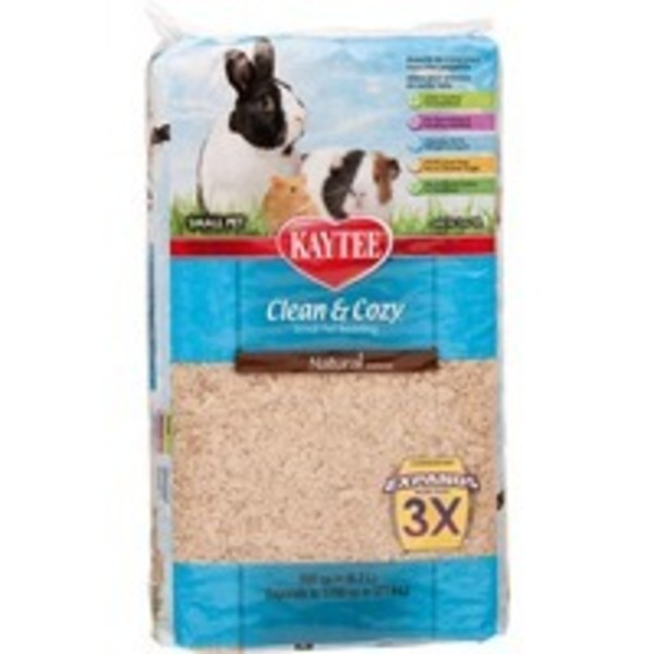 Kaytee Clean & Cozy Natural Small Animal Bedding 500 Cu. In.