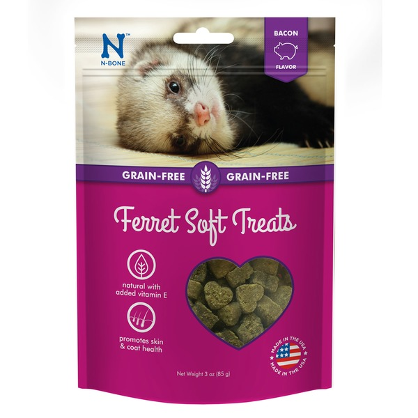 N-Bone Grain Free Bacon Flavor Soft Ferret Treats