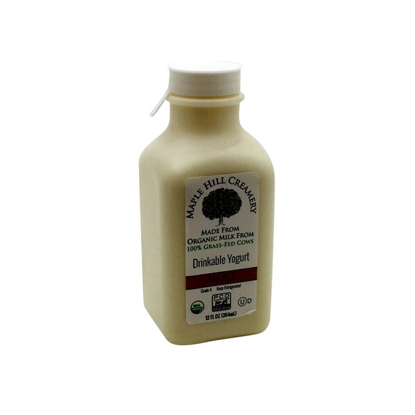 Maple Hill Creamery Organic Maple Drinkable Yogurt