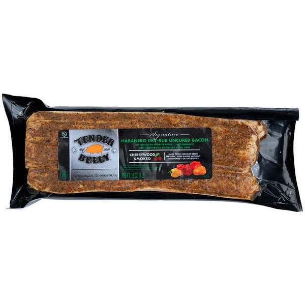 Tender Belly Habenero Dry-Rub Uncured Bacon