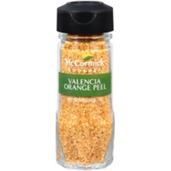 McCormick Gourmet Collection Valencia Orange Peel