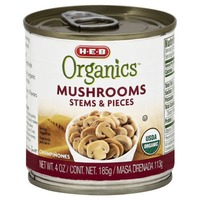 H-E-B Mushrooms Stems & Pieces