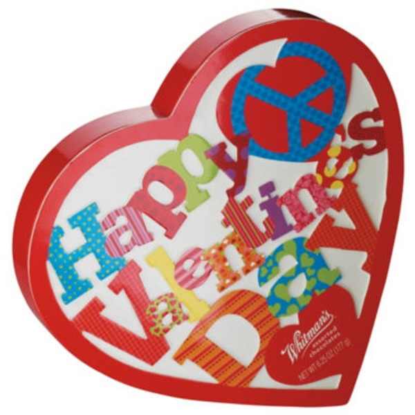 Whitman's Happy Valentines Day Chocolate Box Heart