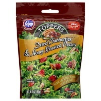 Kroger Dried Cranberries & Honey Roasted Pecan Toppers