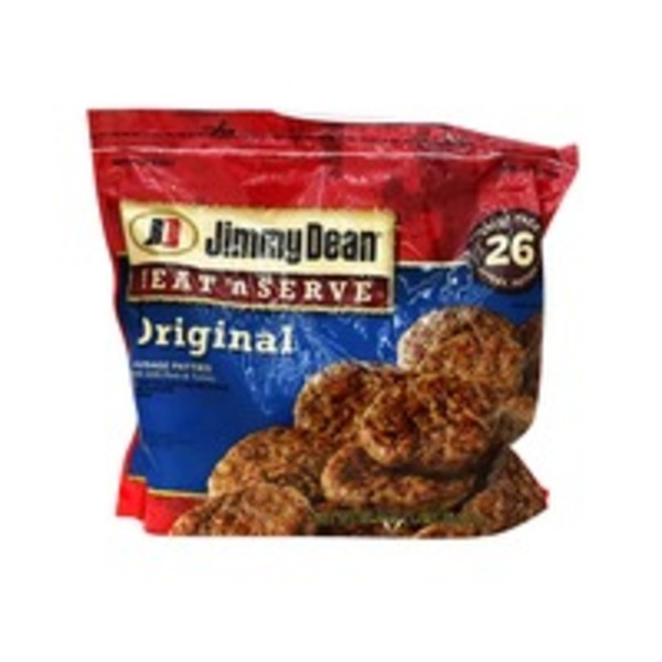 Jimmy Dean Heat N' Serve Sausage Original Patties