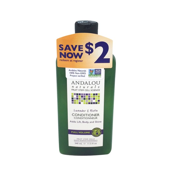 Andalou Naturals Full Volume Conditioner Lavender & Biotin