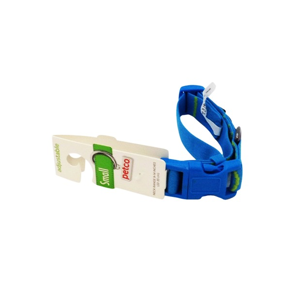 Petco Blue & Green Adjustable Sport Collar