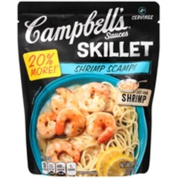 Campbell's Dinner Sauces Shrimp Scampi Skillet Sauces