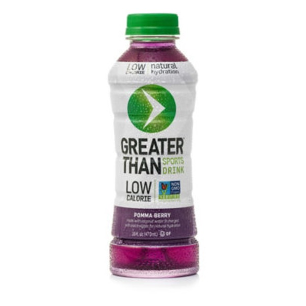 Greater Than Sports Drink, Coconut Water, Berry Blue