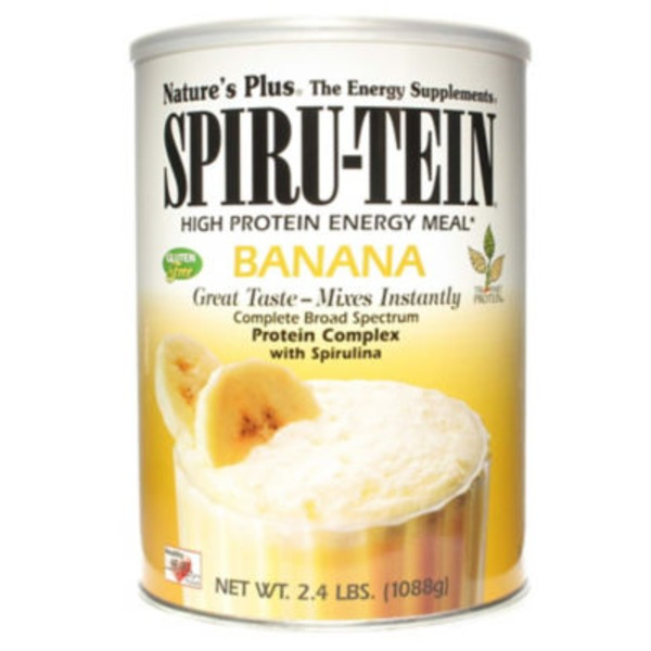 Nature's Plus Spiru-Tein High Protein Energy Meal Banana Flavor