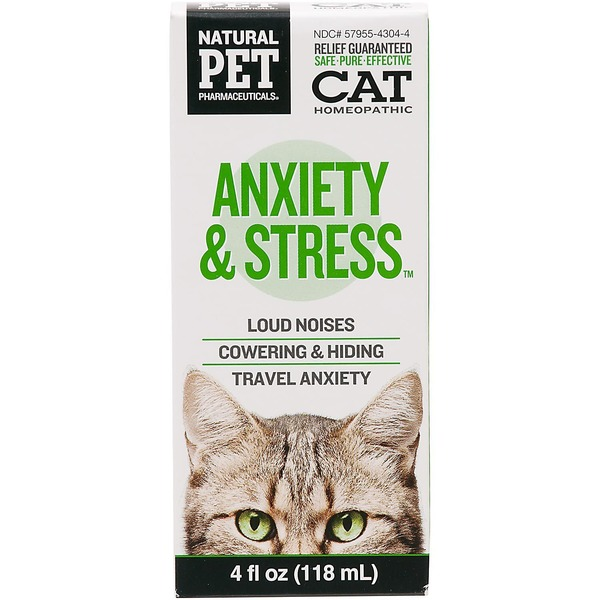 Natural Pet Anxiety & Stress Cat Water Additive