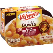 Kraft Velveeta Bacon Mac & Cheese Cheesy Bowls 9 oz. Tray