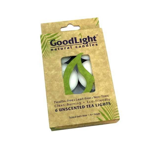 GoodLight Light Unscented .5 Oz Tea Candles