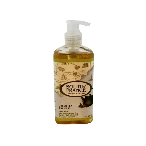 South of France Green Tea Hand Wash With Soothing Aloe Vera