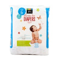 365 Size 6 Diapers (35+Lb)