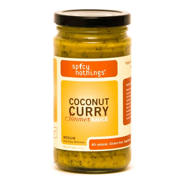 Spicy Nothings Medium Coconut Curry Simmer Sauce