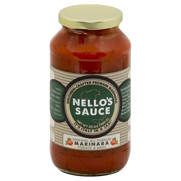 Nello's Original All-Purpose Tomato & Basil Marinara
