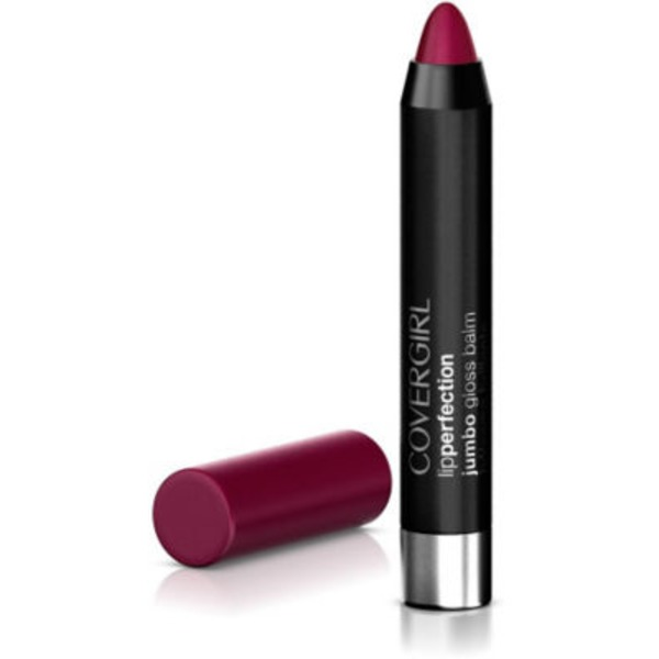 CoverGirl Colorlicious COVERGIRL Colorlicious Jumbo Gloss Balm Sheers, Jam Twist .13 oz (3.8 g) Female Cosmetics