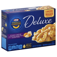 Kraft Macaroni & Cheese Dinner Deluxe Four Cheese
