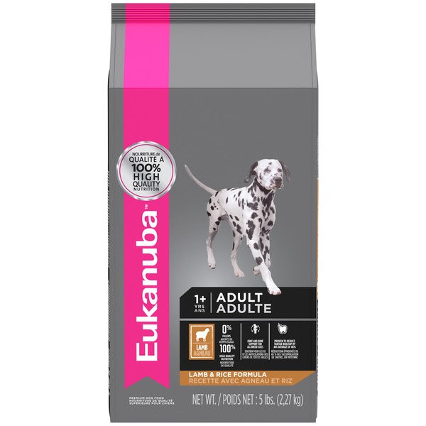 Euk Dog 5# Adult Maint Lamb & Rice