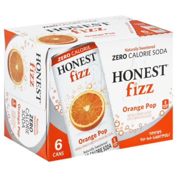 Honest Fizz Organic Orange Pop Soda