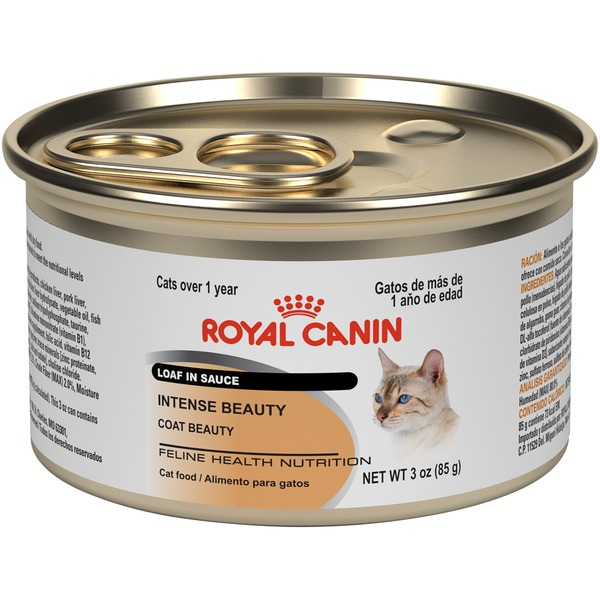 Royal Canin Intense Beauty Loaf in Sauce Wet Cat Food