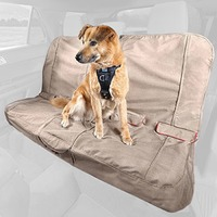 Kurgo Heather Bench Tan Dog Car Seat Cover 55