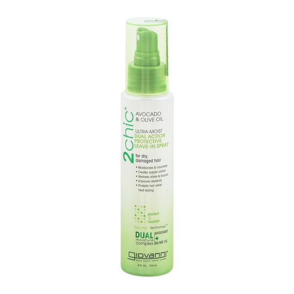 Giovanni 2Chic Ultra-Moist Dual Action Protective Leave-In Spray Avocado & Olive Oil