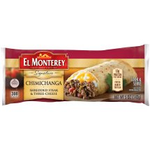 El Monterey® Signature Shredded Steak & Three-Cheese Chimichanga 5oz