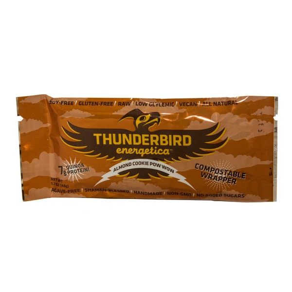 Thunderbird Energetica Almond Cookie Pow Wow Energy Bar