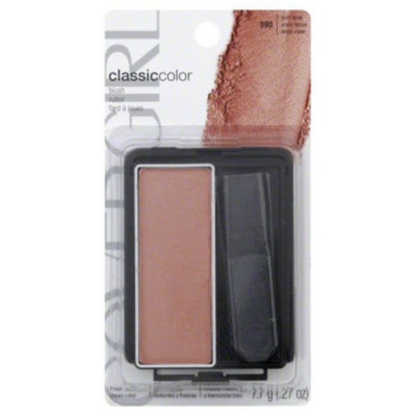 CoverGirl Classic Color COVERGIRL Classic Color Powder Blush, Soft Mink .3 oz (8 g) Female Cosmetics