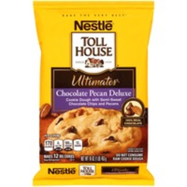 Toll House Ultimates Chocolate Pecan Deluxe Cookie Dough