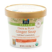 365 Organic Oats and Flax Ginger Snap Instant Oatmeal