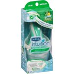 Schick Intuition Sensitive Care Women's Razor, 1 Handle + 2 Refills