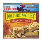 Nature Valley Granola Bars, Sweet and Salty Nut, Peanut, 6 Bars - 1.2 oz, 1.2 OZ