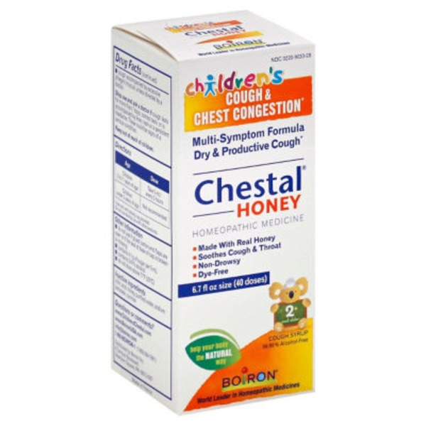 Chestal Honey Cough Syrup Real Honey