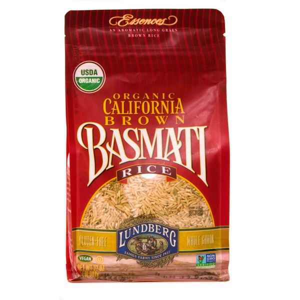 Lundberg Family Farms OG California Brown Basmati Organic Brown Rice